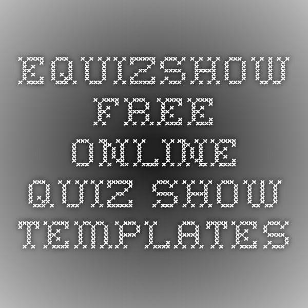 25+ best ideas about Quiz Games Online on Pinterest - online quiz templates