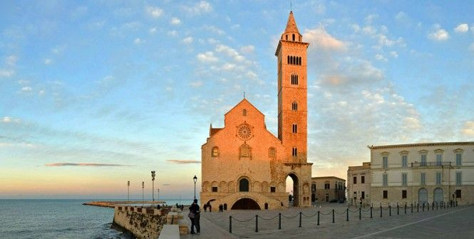 Trani Cathedral, Apulia. www.italianways.com/the-trani-cathedral-a-miracle-between-heaven-and-earth/