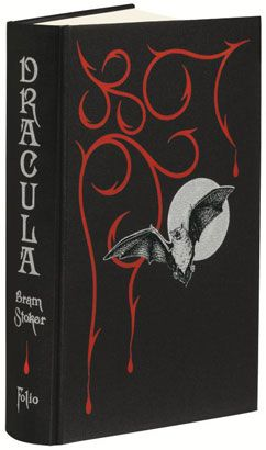 Dracula, cover by Abigail Rorer, published by Folio Society