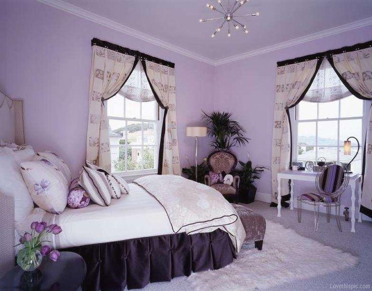 Idee per arredare la camera da letto con il color lavanda - Camera da letto color lavanda