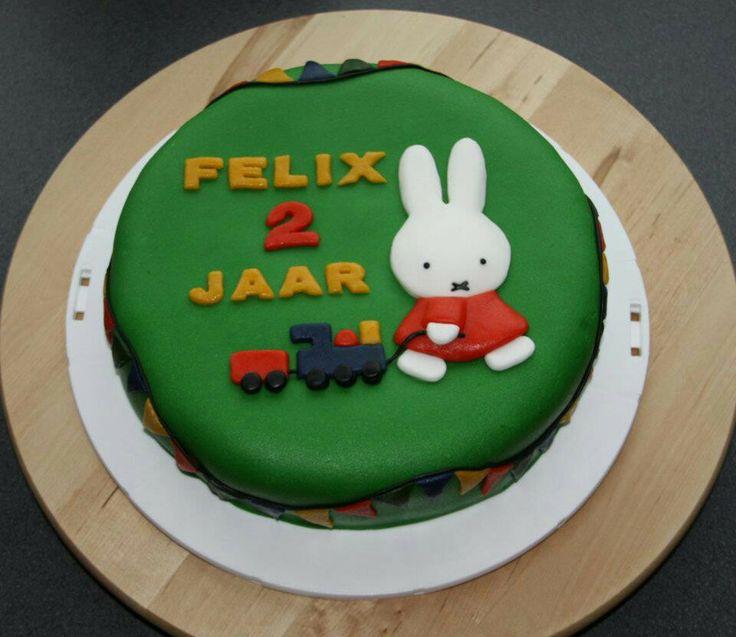 Nijntje taart (Felix 2 jaar )