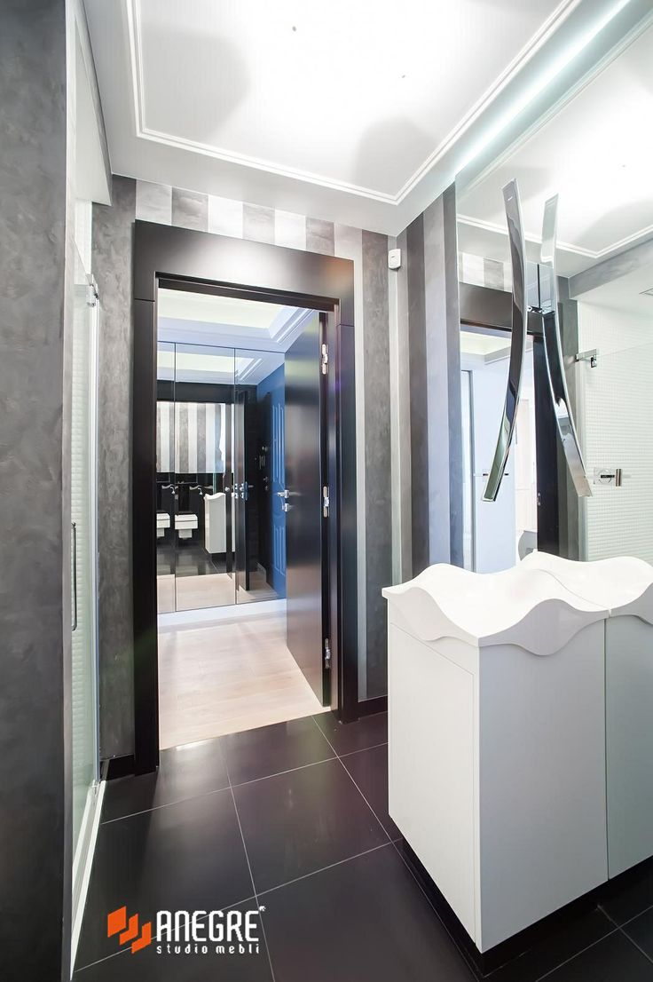 Small guest bathroom/ Projekt by Studio Anegre