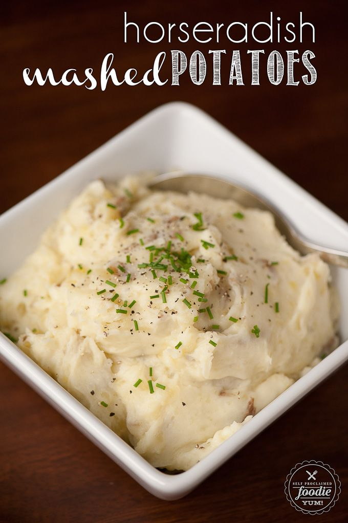 Horseradish Mashed Potatoes #mashedpotatoes #foodporn #dan330 http://livedan330.com/2015/04/04/horseradish-mashed-potatoes/