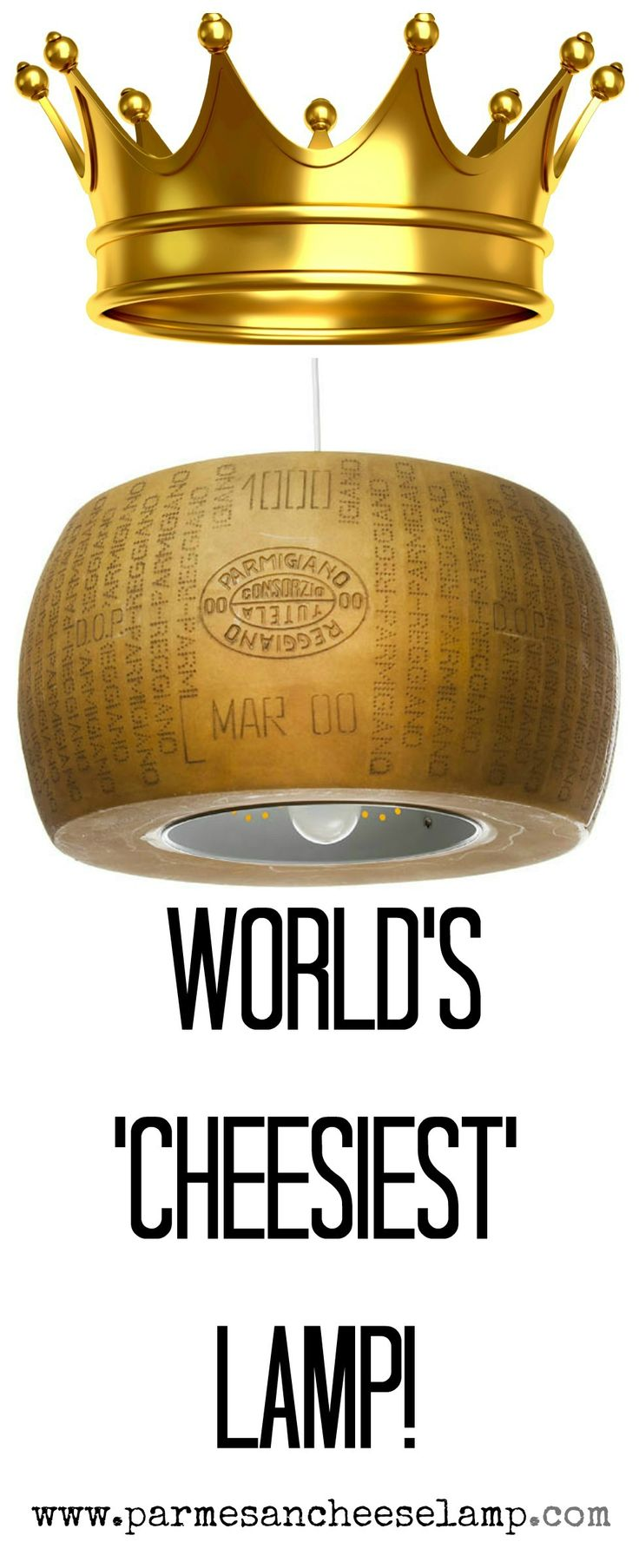 The world's cheesiest lamp ever!