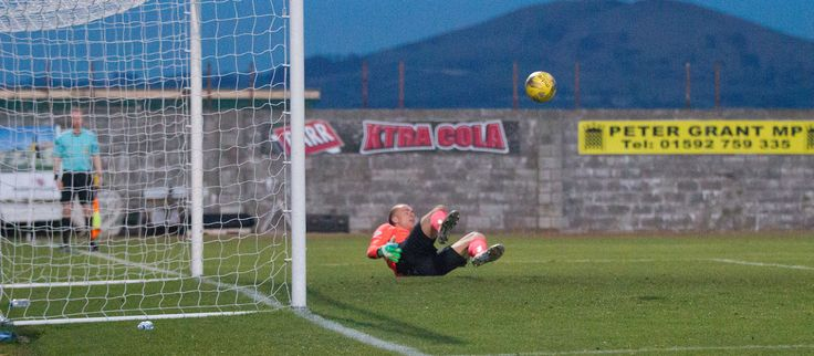 Queen's Park's Ross Millen converts the penalty during the Ladbrokes League One game between East Fife and Queen's Park