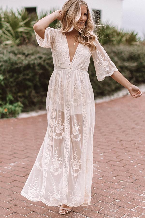 42+ Cream boho dress ideas