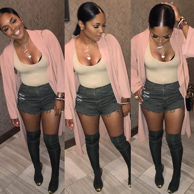 Chill looks we ❤️ the Throw Me On Cardigan & the Olive Distressed Shorts #fab available now at Pressedatl.com shoes: #yeezy follow @pressedatl