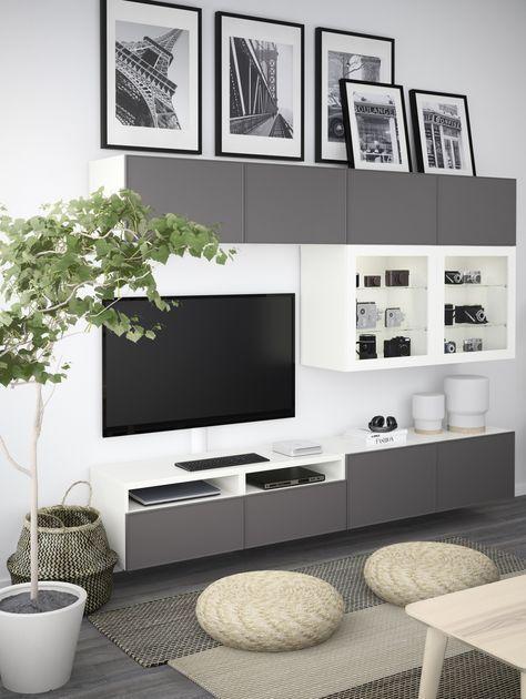 Die besten 25+ Tv kombi Ideen auf Pinterest Amerikanische - wohnzimmer weiße möbel
