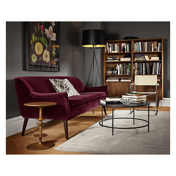 Sectional Sofas Murphy Sofa in Vance Burgundy Living Room u Board
