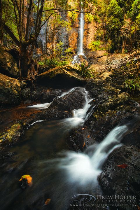 Woolgoolga Falls - Mid North Coast - New South Wales, Australia.