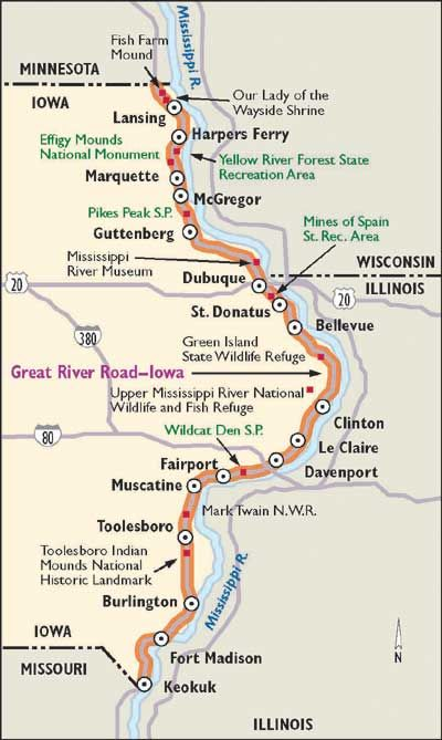 """scenic iowa   TLC """"Scenic Drive in Iowa: Great River Road"""""""