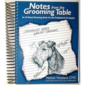 Spiral Bound Dog Grooming Books