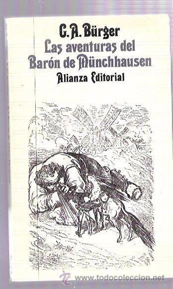 LAS AVENTURAS DEL BARÓN DE MÜNCHHAUSEN. G.A. BÜRGUER. ALIANZA EDITORIAL. Nº906. - Foto 1