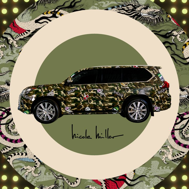 The Lexus LX By Nicole Miller Is Ready For Its Runwayu2013the Streets Of New
