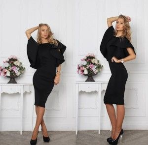 You want a perfect black dress?? Zoe dress is your answer!! <3 She's perfect for office or special events. :)