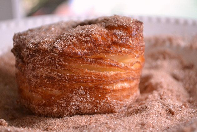 Crounts...Cinnamon Sugar, Homemade Food, Sweets, Yummy Food, Croissants Dough, Puff Pastries, Breads, Homemade Cronut, Cronut Recipe
