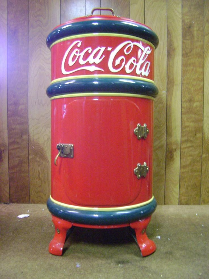 Antique Coca-Cola Cooler - Patent June 23, 1908