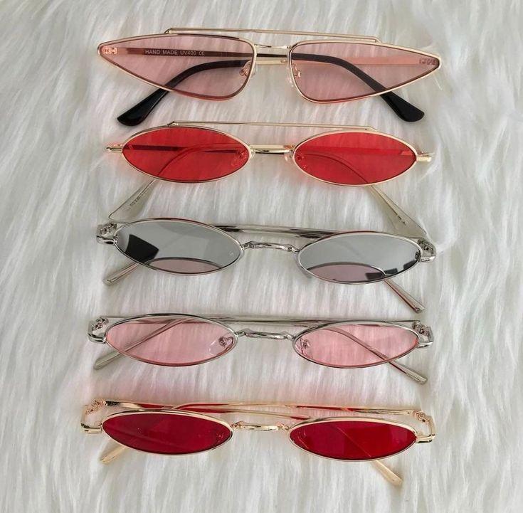 90s Small Sunglasses Trend Vintage Retro 60s Style