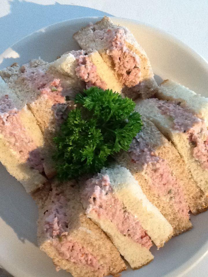 Ham salad sandwiches #kymskonfections