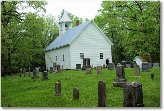 Primitive Baptist Church in Cades CoveCountry Church, Cades Cove Tennessee, Great Smoky Mountains, Baptiste Church, Churches Rur, Favorite Places, Cove Primitives, Primitives Baptiste, Cove Camps