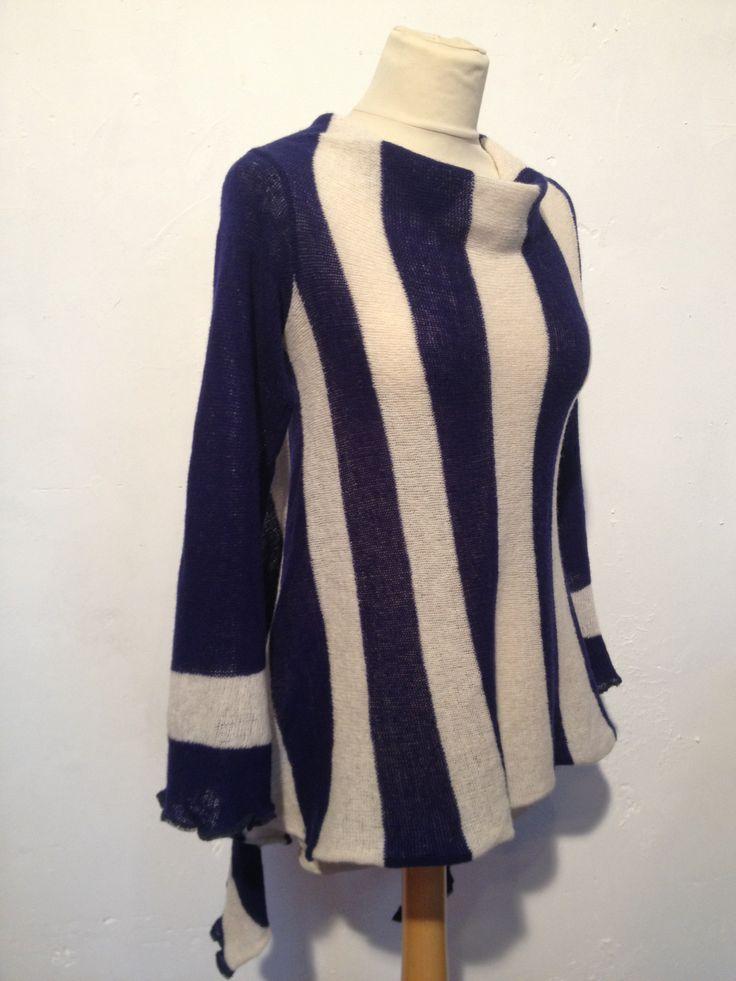 Nautical Stripe Sweater - €125 www.heatherfinn.com/shop/