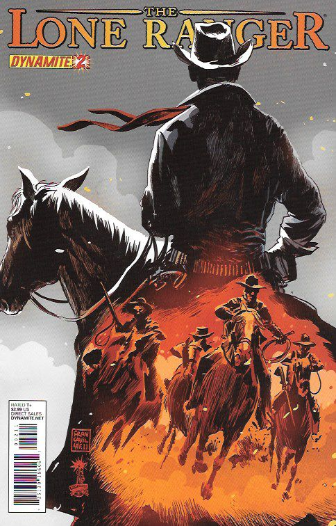Hard Country ___Written by Ande Parks. Art by Esteve Polls. Cover by Francesco Francavilla , The Story ....The Lone Ranger and Tonto enter the rough, legendary old west town of Abilene, Kansas. While