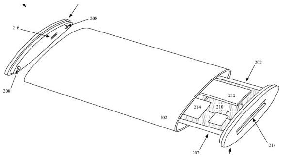A future iPhone could incorporate the flexible display