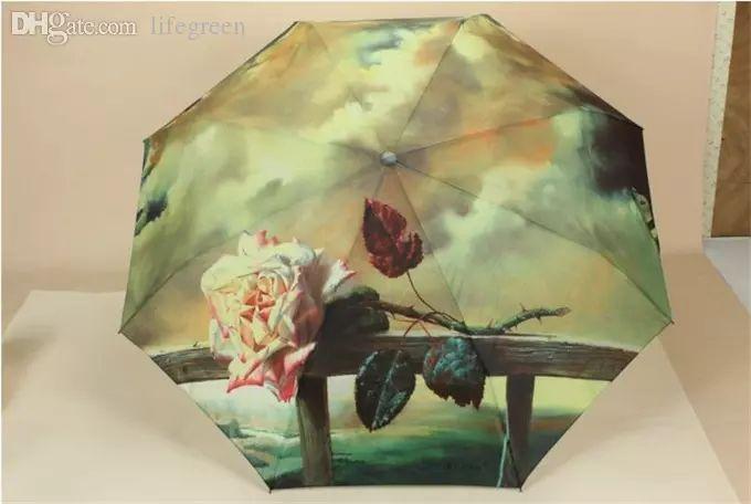 Купить оптом дешевые оптовые зонты три слона роза картина маслом зонт романтический складные классический anti-uv sun / дождь прочный автоматический зонт w00509 с характеристикой: материал, brand, от galry  на Ru.dhgate.com и получить доставку в любую точку мира.