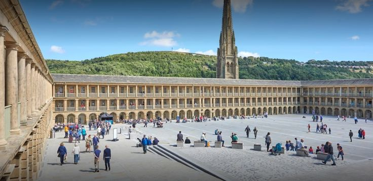 The renovated Piece Hall in Halifax offers a huge range of facilities...shopping, eating, staged events like music festivals and food and drink celebrations