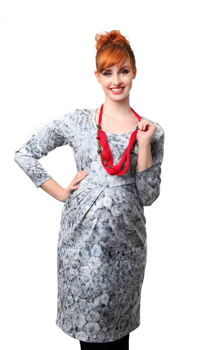 Haljina za trudnice Brokat 01 , Mama Nova