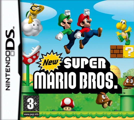 Ds spill, New super Mario bros
