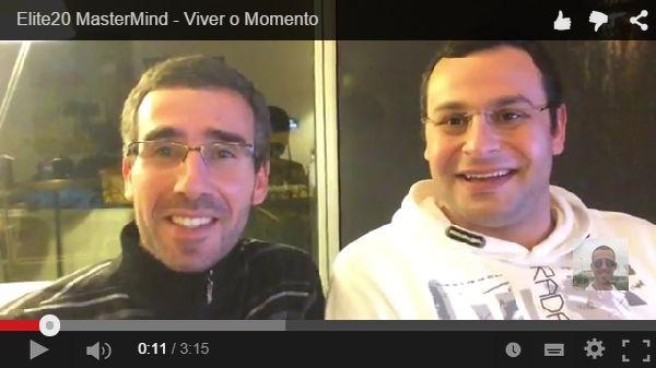 Repara bem neste vídeo no Google+!  Elite20 MasterMind - Viver o Momento  Vive o Momento e esquece o passado...  Ver Vídeo Aqui: https://plus.google.com/+FernandoJorgeParracho/posts/eVTtt2TmU6t