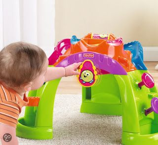 Speelgoed Reviews: Fisher Price Stand Up Ballcano
