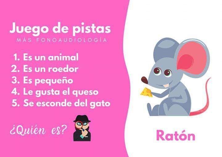 Adivinanzas Ratón Juegos Para Preescolar Juegos De Pistas Libro De Adivinanzas
