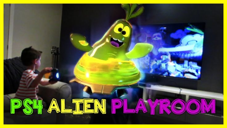 My Alien Buddy and AR Bots PS4 Playroom PlayStation Video Game | Piccolo...