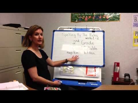 Spelling by the Rules - 2nd grade Lesson 1&2 - YouTube