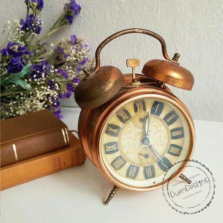 DuenDesigns Antika Bakır Saat  Yükseklik: 17 cm Fiyat: 39,90 - 20 $