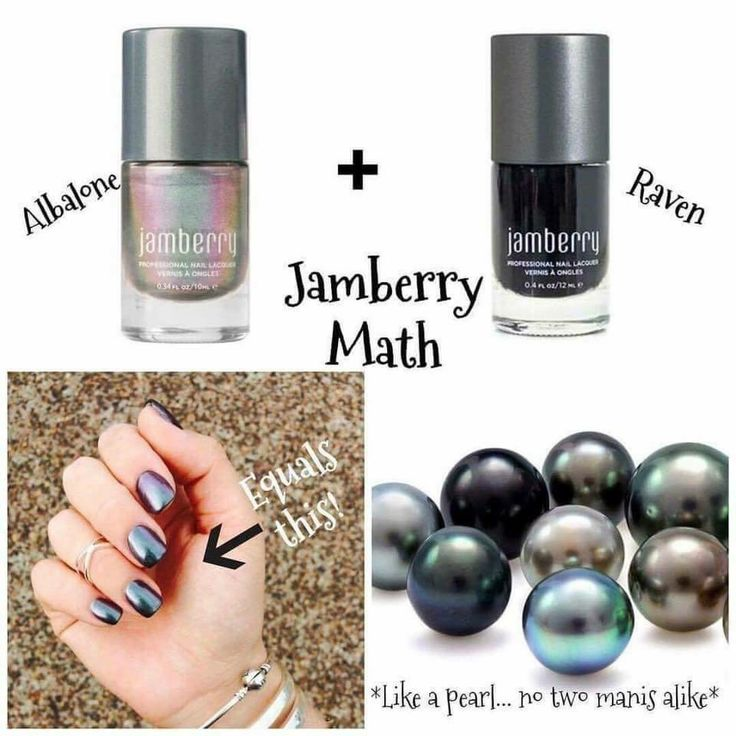 Abalone + Raven = real pearl gorgeous! https://bluejena.jamberry.com/us/en/shop/shop/for/lacquers