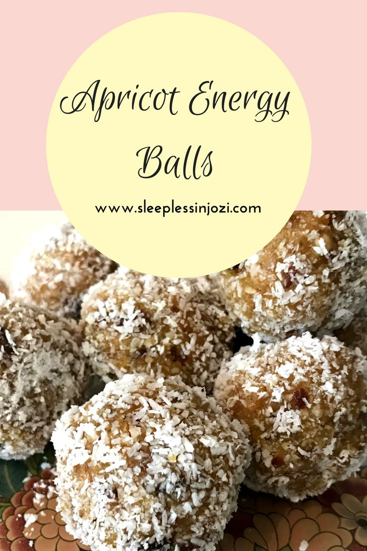 Delicious, easy and healthy no-bake energy balls | Peanut butter & jam energy balls | pb&j snack | finger food for toddlers | pregnancy snacks | apricot balls