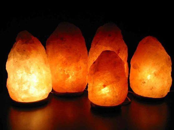 Natural Himalayan Salt Lamp 3-4kg Size | The Elephant Emporium