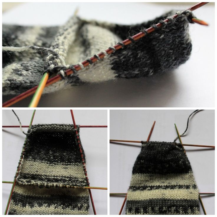 90 best CALCETINES CON TUTORIAL images on Pinterest | Dress socks ...