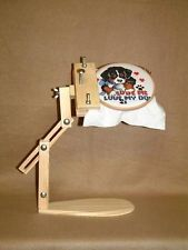 Cross stitch, Embroidery, Lap frame/stand