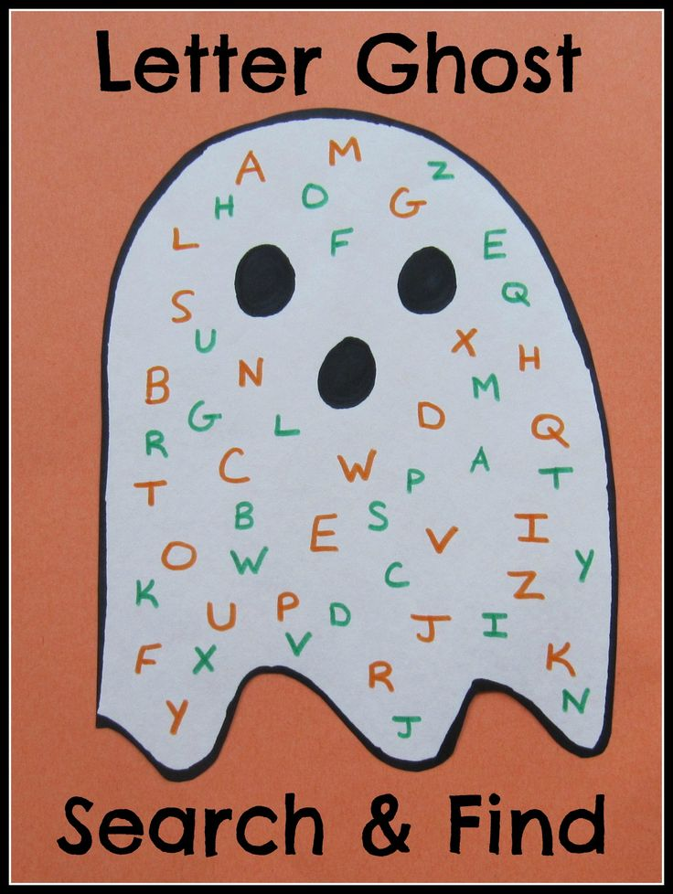 halloween week fun and simple halloween themed letter activity for the kids - Preschool Halloween Bingo