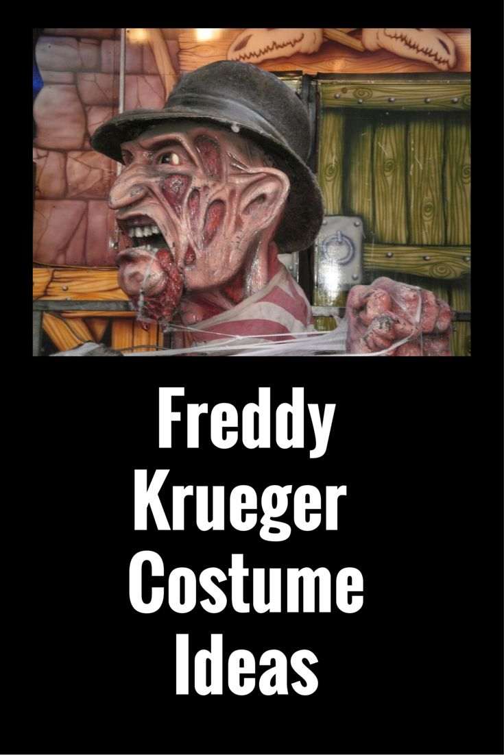 Check out some great Freddy Krueger costume ideas that are sure to add the 'boo' into your Halloween costume!
