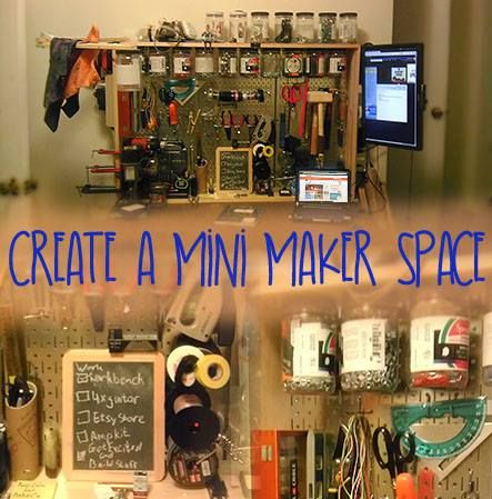 Help your mini-maker set up a workspace for projects. This #LearningToolkit #blog shares tips from the #MAKESHOP Show.