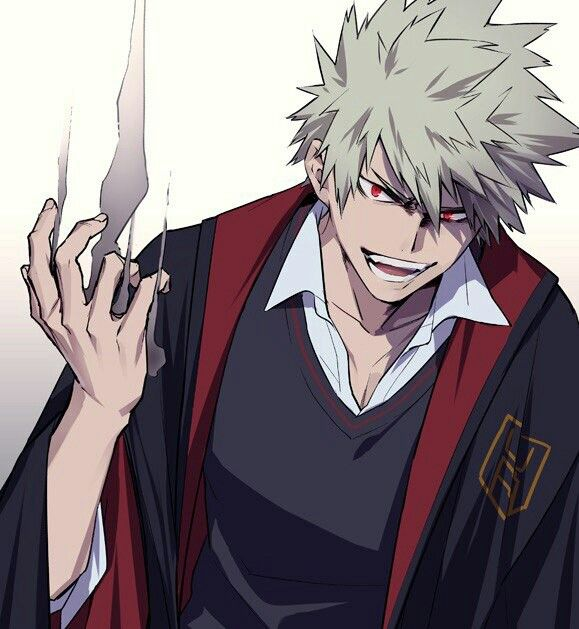 Kacchan definitely suits to be a BADASS VILLAIN