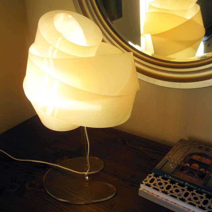 NUVOLINA T, nylon table lamp by ZUUUM, design Samuele Santi