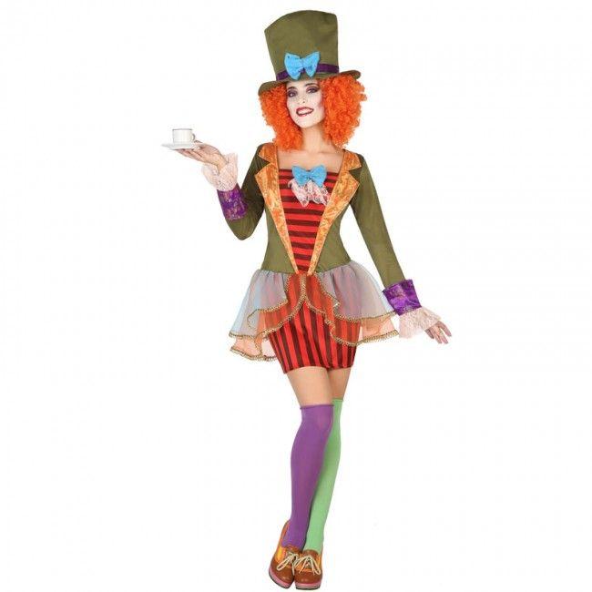 Déguisement Chapelière Folle pour femme #costumespouradultes #nouveauté2017