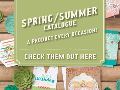 Occasions Catalogue from Stampin' Up!  spring / summer 2017