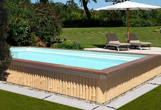 les 25 meilleures id es concernant piscine hors sol beton sur pinterest piscine beton piscine. Black Bedroom Furniture Sets. Home Design Ideas